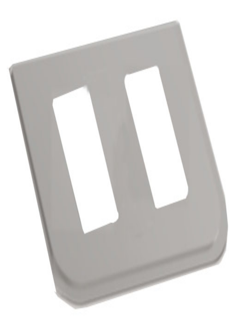 ZKTECO FP2200 - Accesorio para Montaje de Lectoras/ Compatible con Lectora FR1200 u otros/ Para Torniquete Modelo TS2200