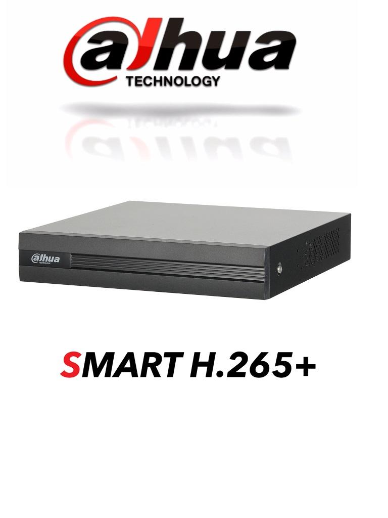 DAHUA COOPER XVR1B04 - DVR 4 Canales Pentahibrido 1080p Lite/ 720p/ H265+/ 1 Ch IP Adicionales 4+1/ SATA Hasta 6TB/ P2P/ Smart audio HDCVI/