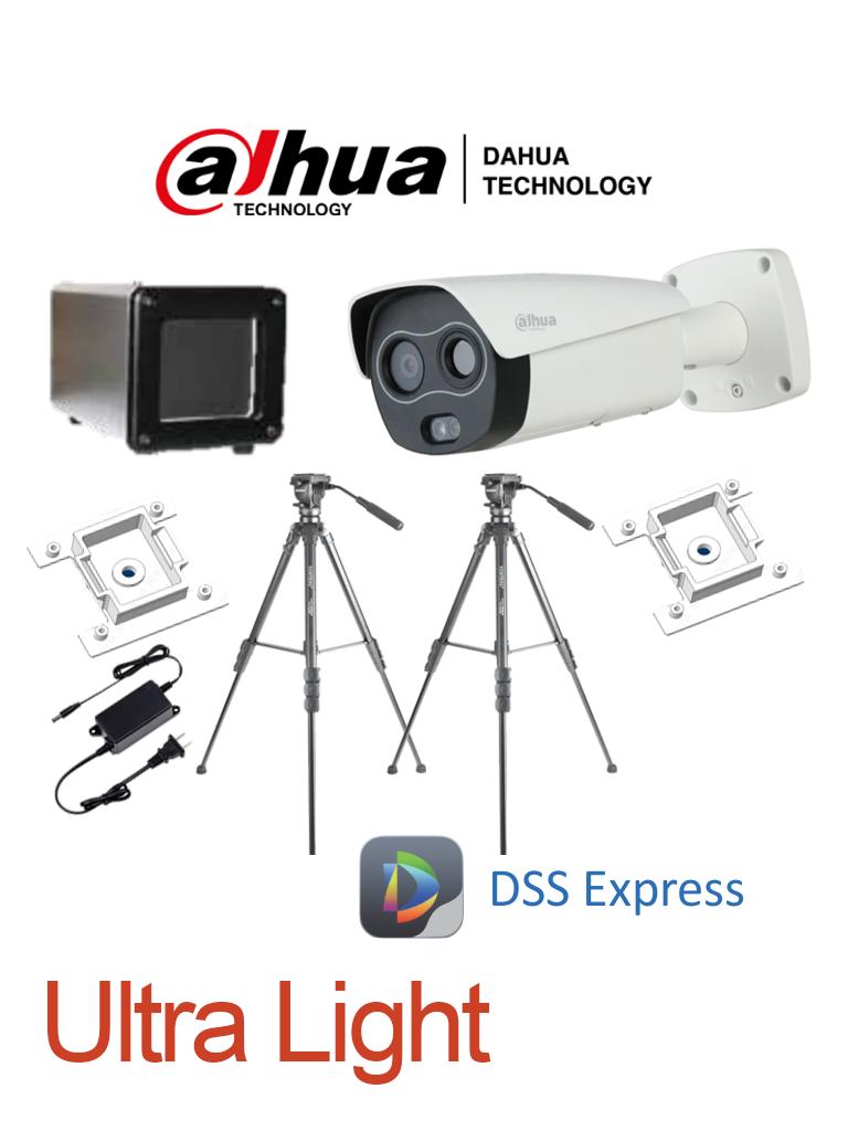 DAHUA BF5421PAQ1 - Sistema de Medición de Temperatura Corporal Ultra Light/ Cámara Térmica Híbrida/ Blackbody/ Accesorios/ DSS Express #COVID19