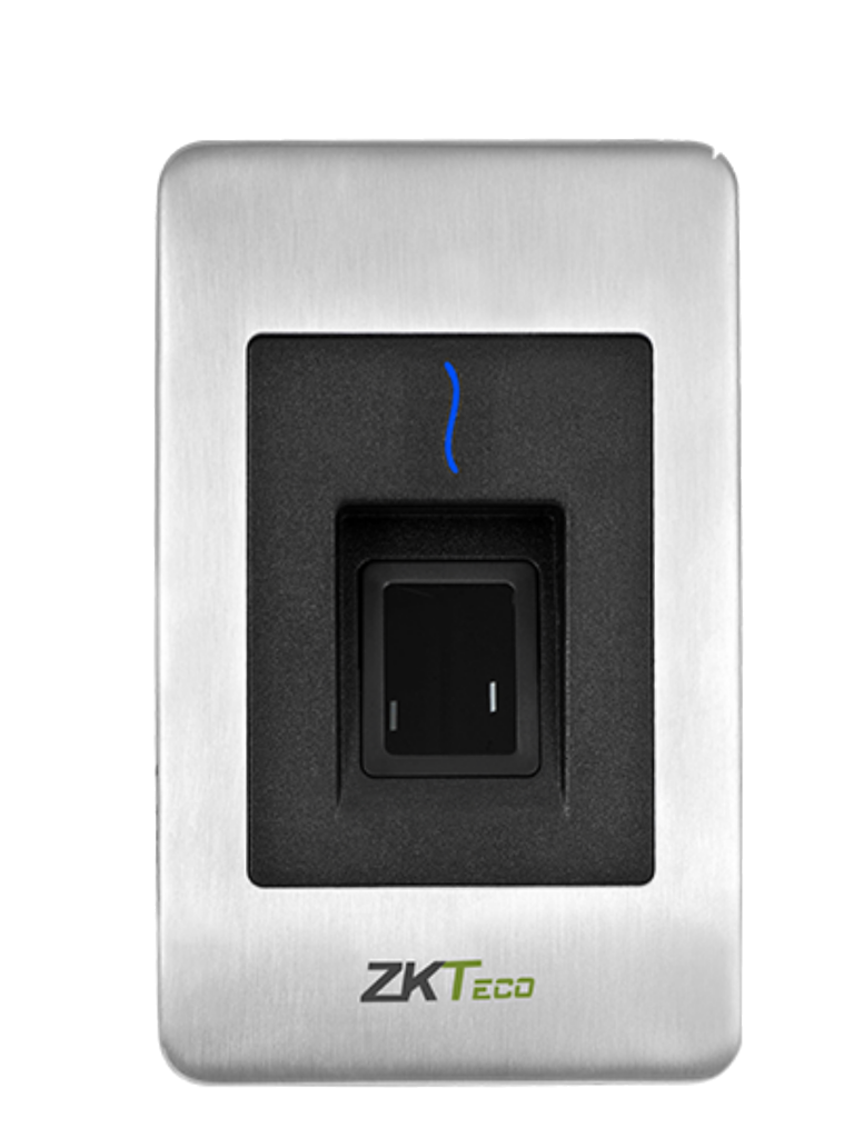 ZKTECO FR1500ID - Lector Esclavo de Huella SILK ID / Tarjetas  ID 125  Khz /  IP65 /  RS485 /  LED Indicador de Estado