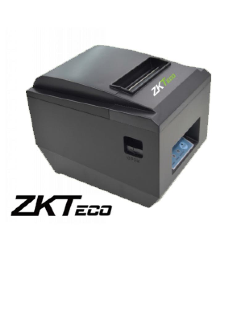 ZKTECO ZKP8005 - Impresora Térmica para Terminal Punto de Venta o Control de Asistencia /  USB / 80 mm /  RS232 / Compatible con Cajón ZKC01 / 24V