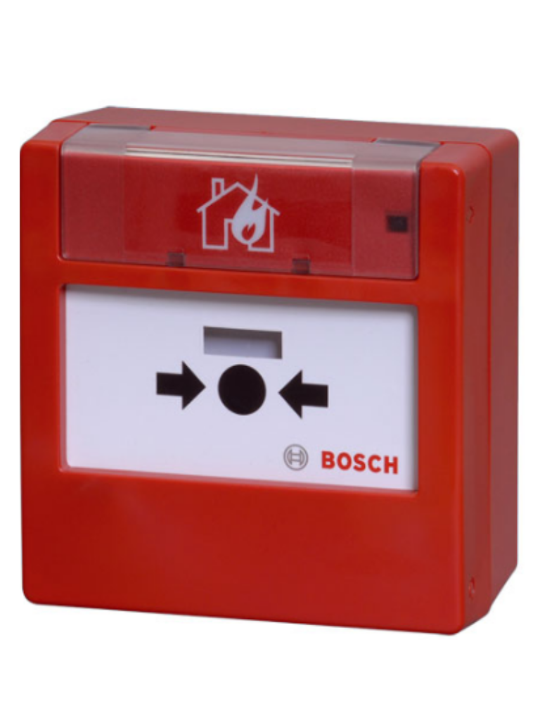 BOSCH F_FMC300RWGSRRD - Estacion manual color rojo / REARME / Montaje en superficie