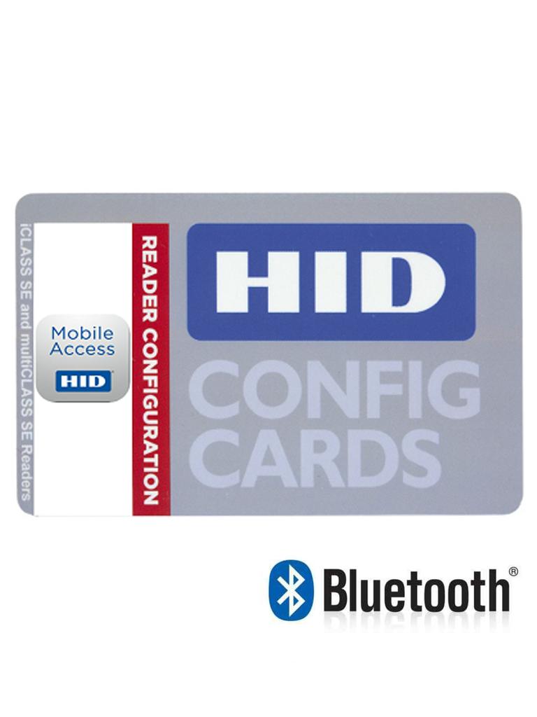 HID MADD - Tarjeta de configuracion para lectores  H ID MOBILE access / Gestion y configuracion de BLUETOOTH / SOBREPED IDO