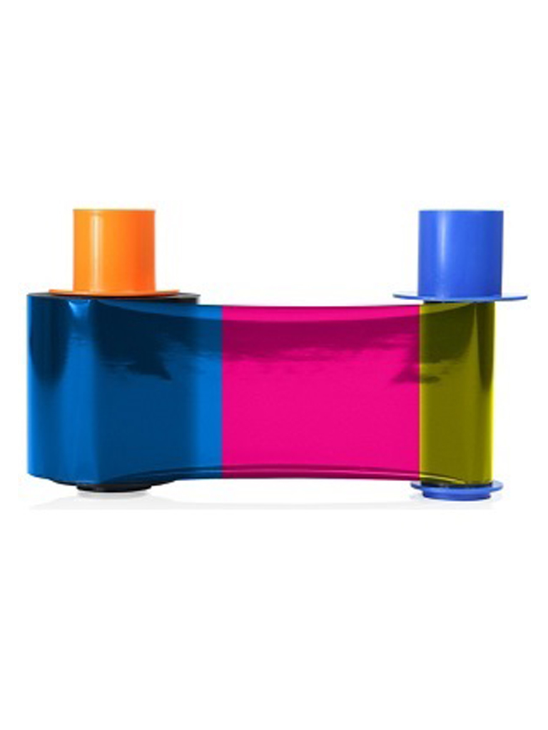 HID CINTA45210 - Cinta para impresion de 500 credenciales / Tinta YMCKOK / Compatible para impresora DTC4500E para impresion a doble cara / Sobrepedido