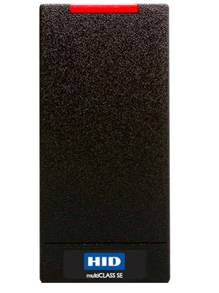 HID RP10 - Lector de proximidad Multiformato tarjetas IsoProx II, ProxCard II, SEOS, iCLASS SE, DESFIRE, MIFARE CLASSIC, iCLASS SR/ Conexion wiegand a panel de control
