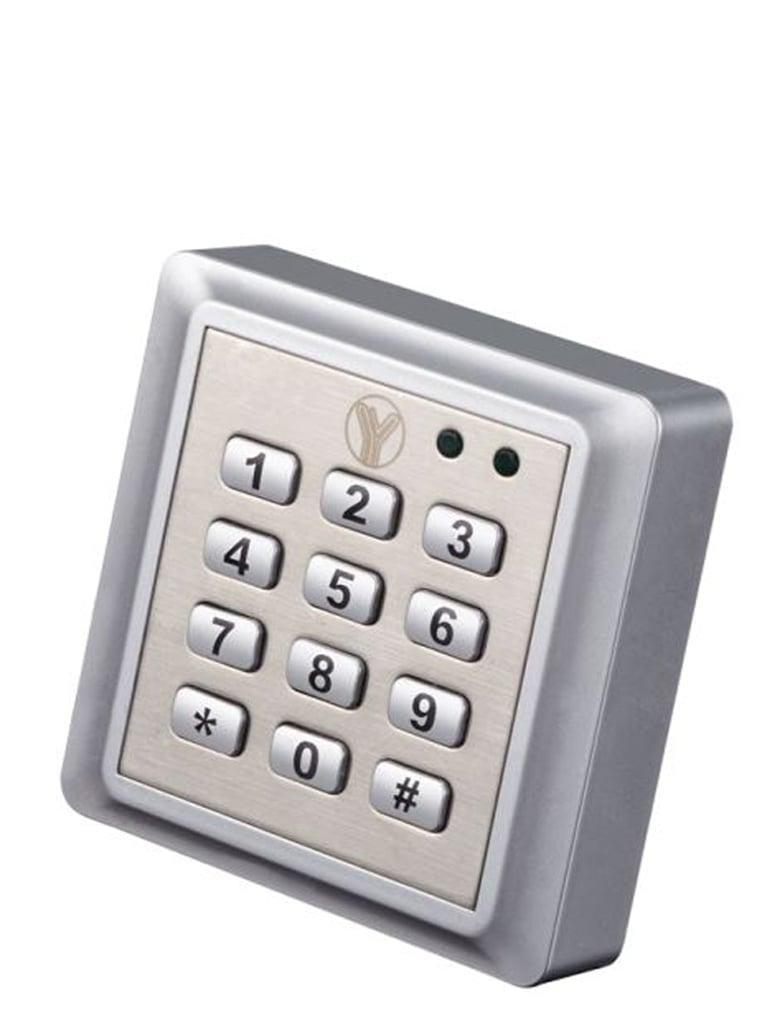 YLI YK668 - Teclado para control de acceso para tarjeta  ID a prueba de agua para 2000 tarjetas ID y 1 password