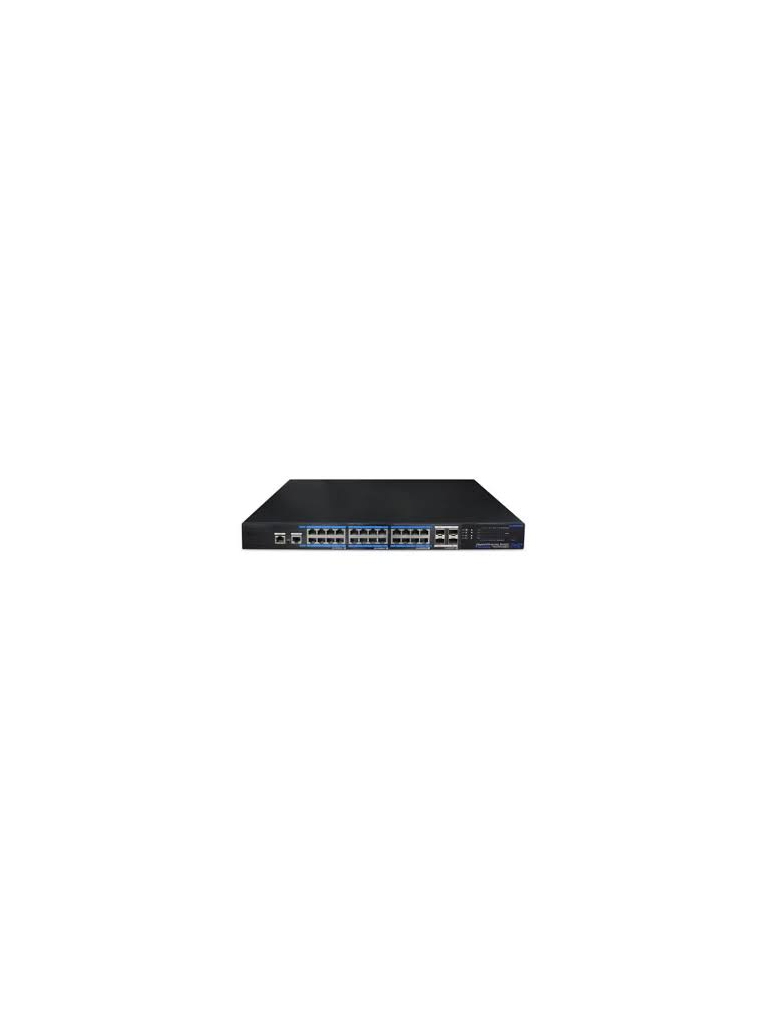 UTEPO UTP7524GEPOEK - Switch  Gigabit  PoE 24 puertos GE AF / AT / 4 PTOS UPLINK SFP / Funcion ONE-KEY smart