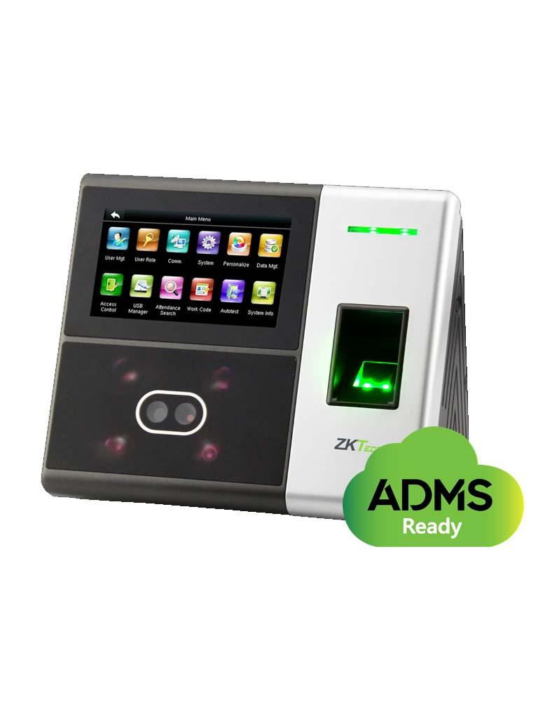 ZKTECO SFACE900ID - Control de Acceso y Asistencia Simple / 3000 Rostro / 4000 Huellas / 10 000 Tarjetas  ID / TCPIP /  USB