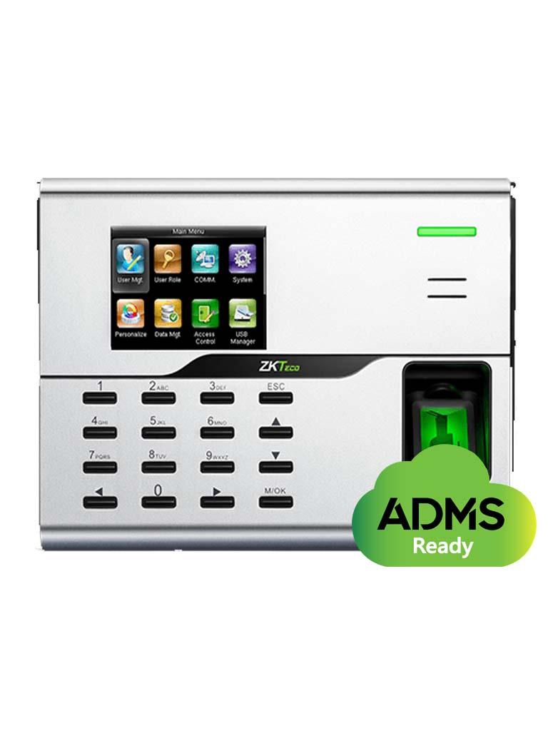 ZK UA860ID - CONTROL DE ACCESO Y ASISTENCIA SIMPLE / 3000 USUARIOS / 3000 TARJETAS ID / 50000 REGISTROS / TCPIP / WIFI
