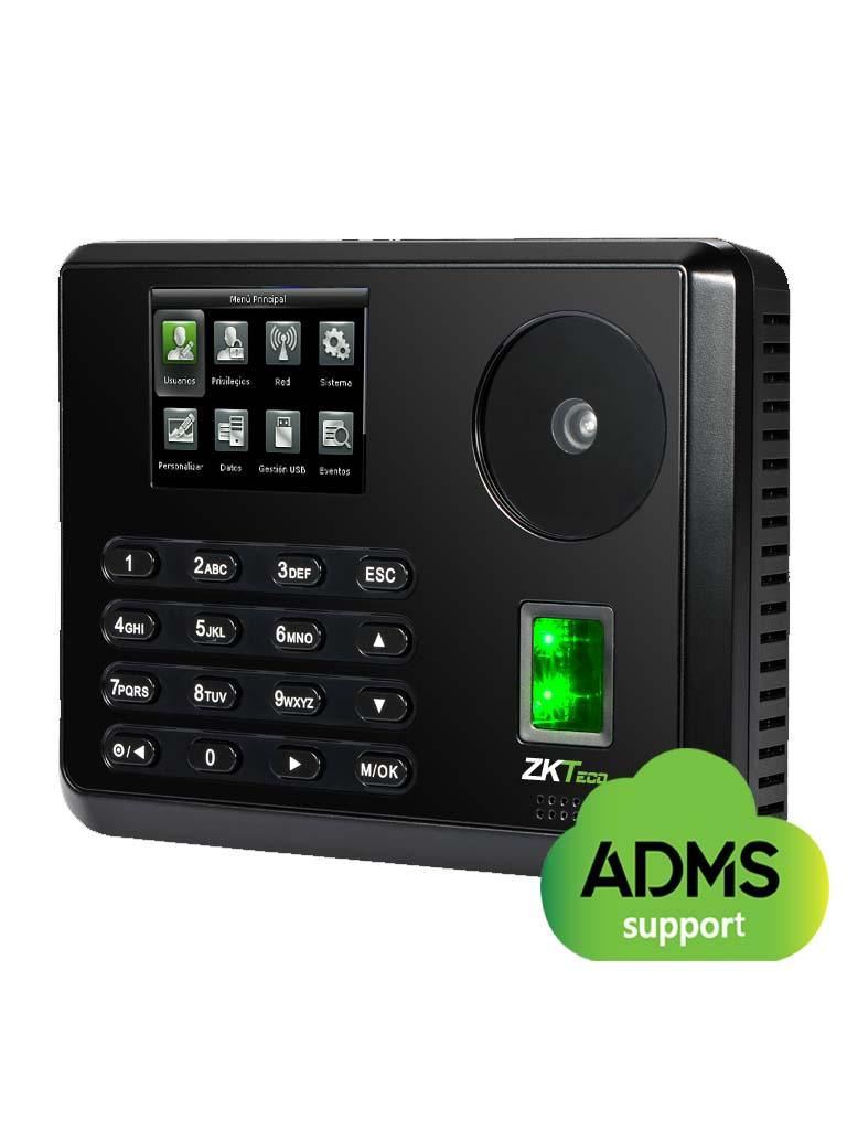 ZK P160 - CONTROL DE ACCESO Y ASISTENCIA SIMPLE / 600 PALMAS/ 3000 HUELLAS/ TCPIP / MODULO POE / BATERIA DE RESPALDO