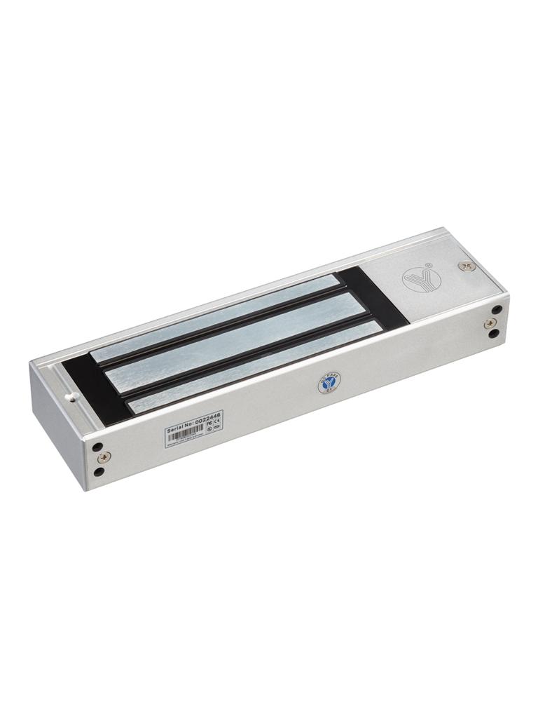 YLI YM500N - Contrachapa magnetica uso rudo interiores / 500 Kg / 1200  Lb / Voltaje dual / Pregunta a tu ejecutivo por la chapa para Exterior