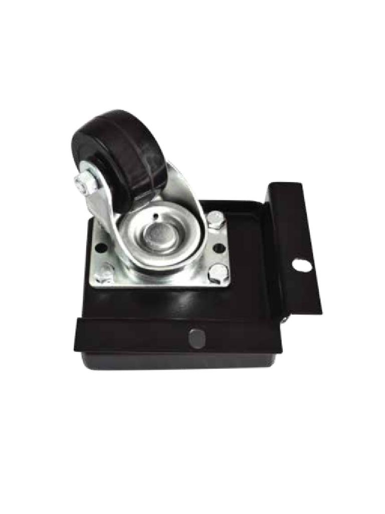 LACES LA300KRG - Kit de ruedas giratorias / Soporta hasta 500 Kg / Goma dura / Sobre pedido