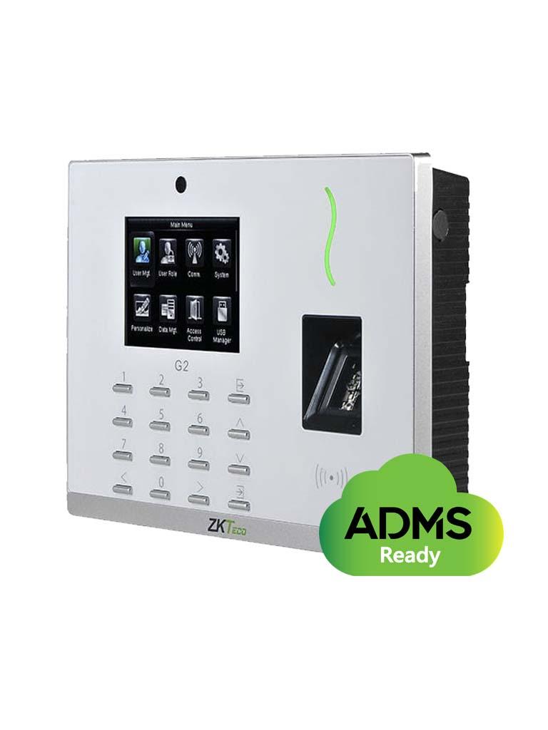 ZKTECO G2MF - Control de Acceso y Asistencia / 20 000 Huellas SILK ID / 20 000 Tarjetas MF / 200 000 Registros / TCPIP / Green Label