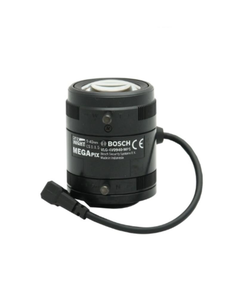 BOSCH V_LVF5005CS0940 - Lente megapixel SR varifocal / Sensor 1 / 2.5 / 5 MP / De 9 a 40 mm.
