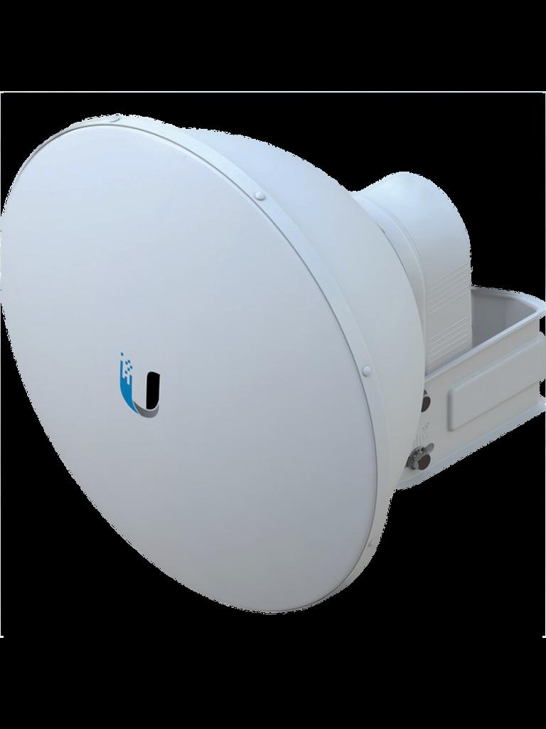 UBIQUITI AF5G23S45 - Antena Direccional AirFiber X para Radio Conectorizado / 5.8 GHz / Ganancia 23 dBi / MIMO / Compatible con AF5X y AF5XHD