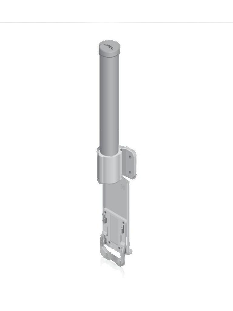 UBIQUITI AMO5G10 - Antena Omnidireccional para access point / 5.8GHz / Ganancia 10 dBi / 2 Conectores SMA hembra inverso
