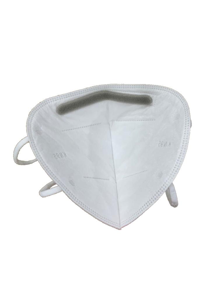 SAXXON KN95c50- Cubrebocas / 4 sub-capas de protección KN95/ Efectividad de filtración de partículas mínima 92% / FFP2/ Caja con 50 Piezas