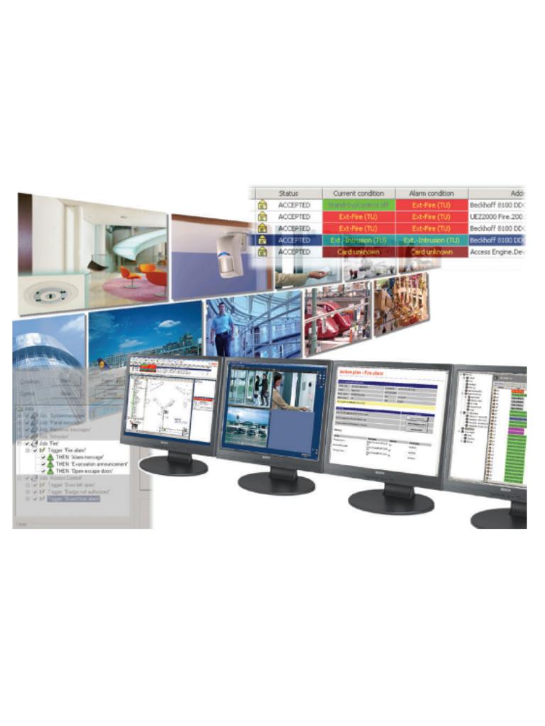 BOSCH BISGENAMPACK - Software para integrar administracion de un sistema de alarma