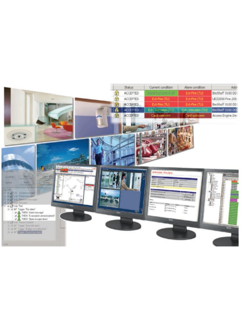 BOSCH V_BISFGENAMPK41 - Software paquete de administracion de alarmas para bis