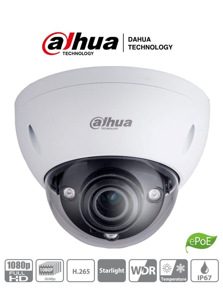 DAHUA IPC-HDBW5231E-ZE-HDMI - Cámara IP Domo 2 Megapixeles con Salida HDMI/ Lente Motorizado de 2.7 a 13.5/ IR de 50 Mts/ E&S de Audio y Alarma/ IP67/ IK10/ ePoE/ MicroSD #RETAIL #Proyectos