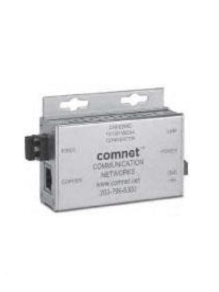 BOSCH V_CNFE2MCIN-CONVERTIDOR DE MEDIOS FIBRA OPTICA ETHERNET 10-100 MBPS UN PUERTO