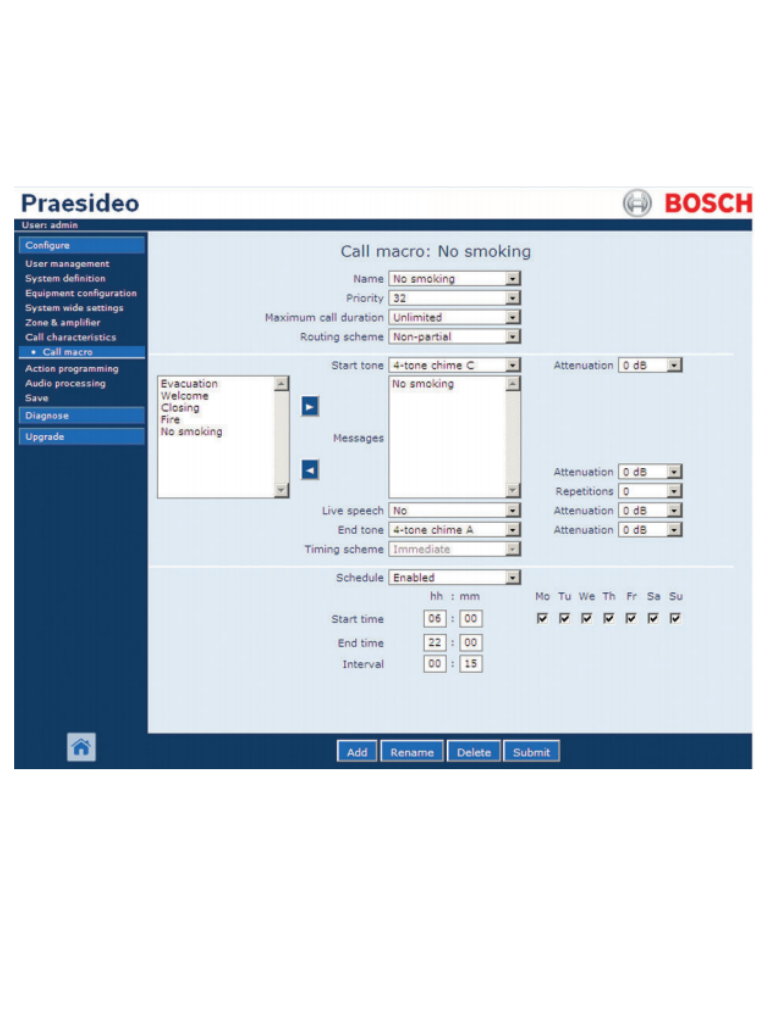 BOSCH M_PRSSW- SOFTWARE PRAESIDEO