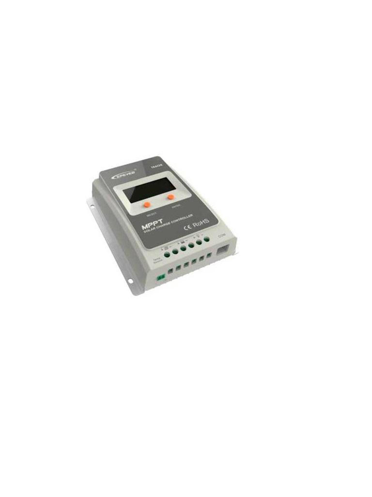 EPSOLAR TRACER4210A - CONTROLADOR EPSOLAR MPPT P/BATERIA C/PANTALLA 40A 12/24V