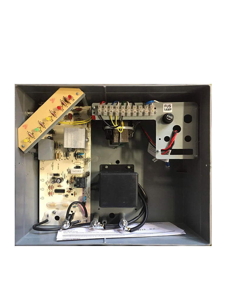 YONUSA EY12000127P - Energizador para cerco electrico / 12 000V / 3500  Mts Lineales / Sin interface / Soporta modulo  WiFi y bateria de respaldo