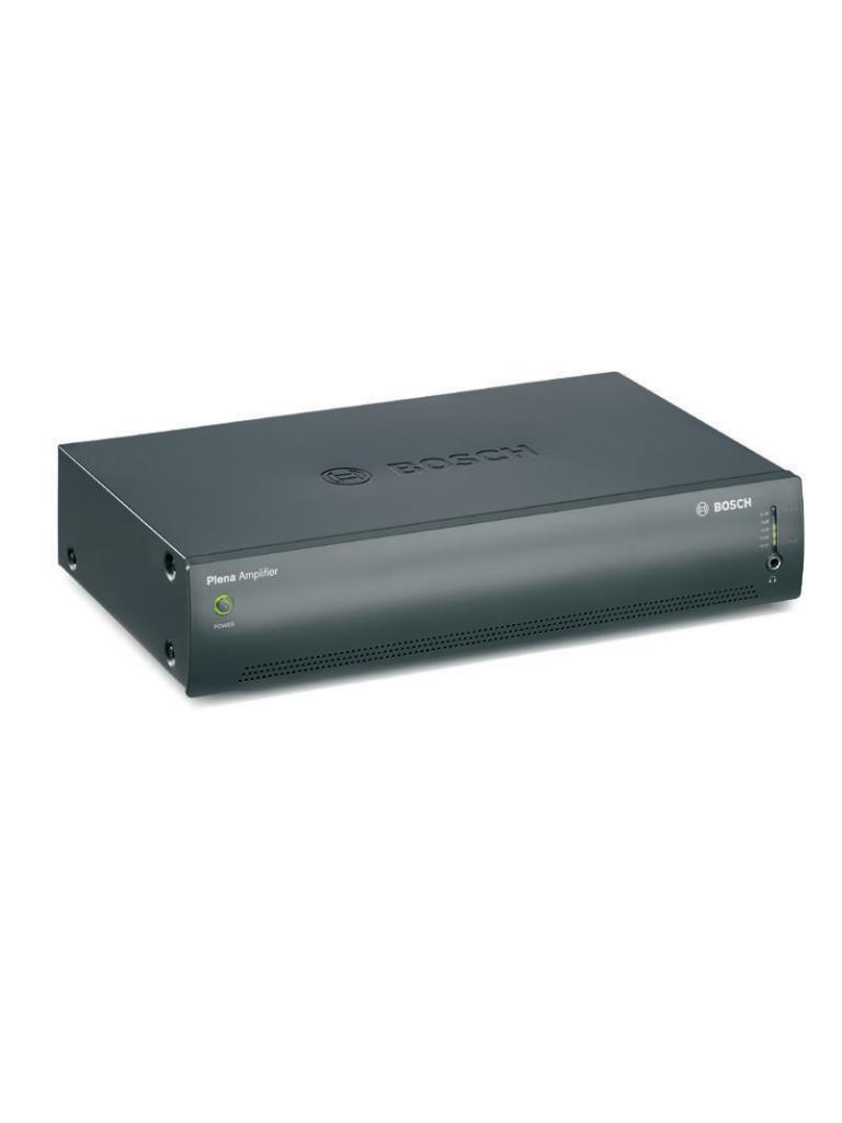 BOSCH M_PLE1P120US - Amplificador plena 120W / Entrada de linea 1V y 100V / Salidas linea 70V / 100V / 8 OHMS