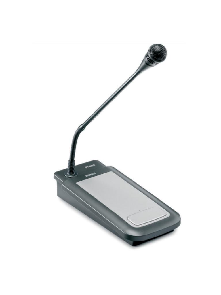 BOSCH M_PLE1CS - Estacion de llamada plena / 1 Zonas / Ganancia seleccionable / Control de nivel de salida