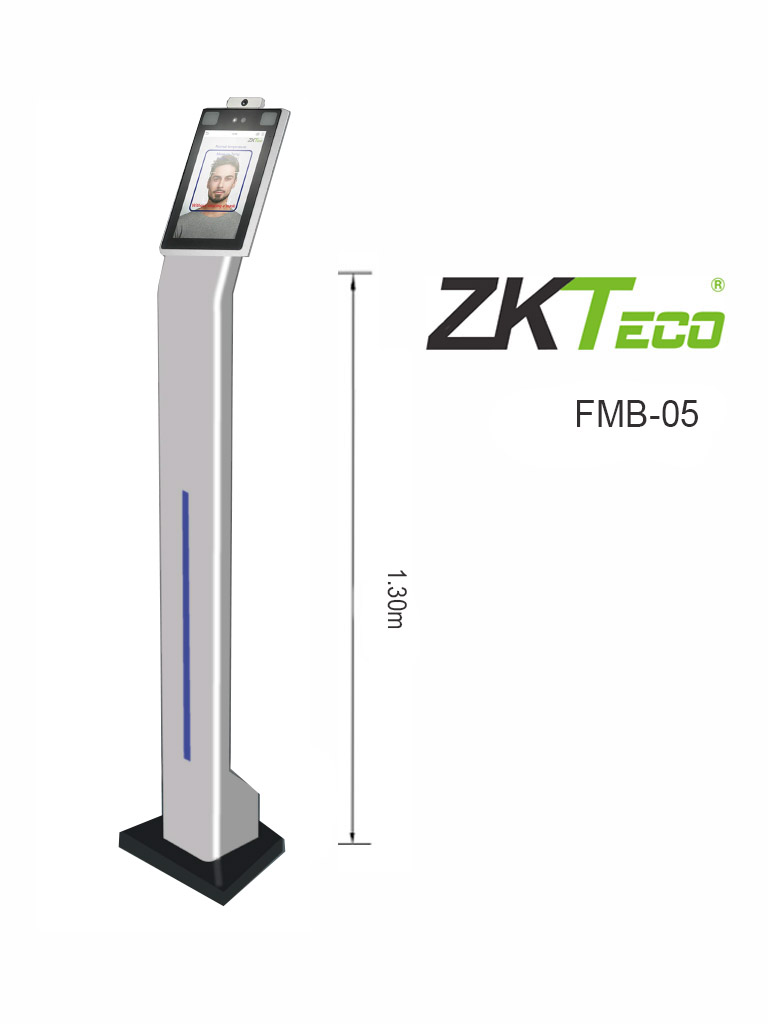 ZKTECO FMB05 - Soporte para Interiores para  Equipos de pared con Medición De Temperatura Speedface V5L  y Proface X ZKTeco / Dimensiones 321x288x mm / #ZKTop5