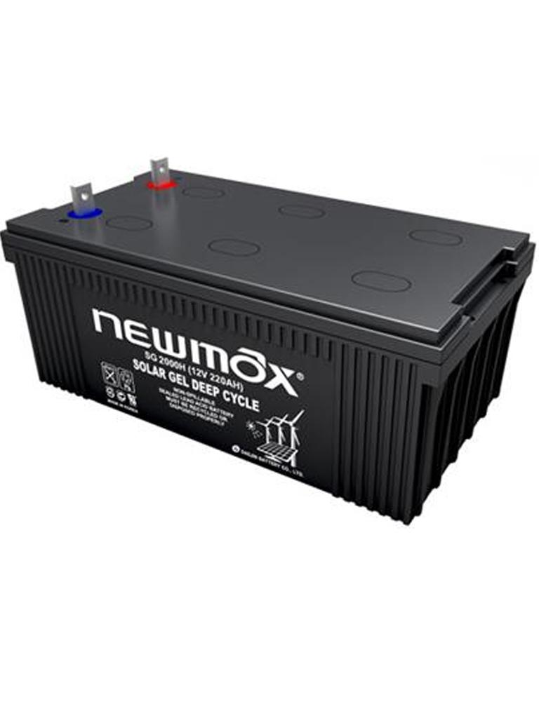 NEWMAX SG1200H - BATER??A Solar NEWMAX de gel 12V 120AH 20 HR