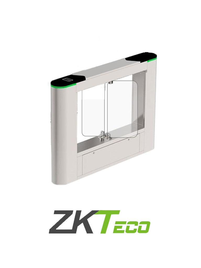 ZKTECO SBTL6200 - Barrera Peatonal Central / Acero SUS304 / Aleta de Acrílico Personalizables / 110 V / Exterior Protegido / Carril 63.5 Cm / Infrarrojos de Seguridad / Indicador Led / 2 millones de Ciclos / No cuenta con Lectores y Panel