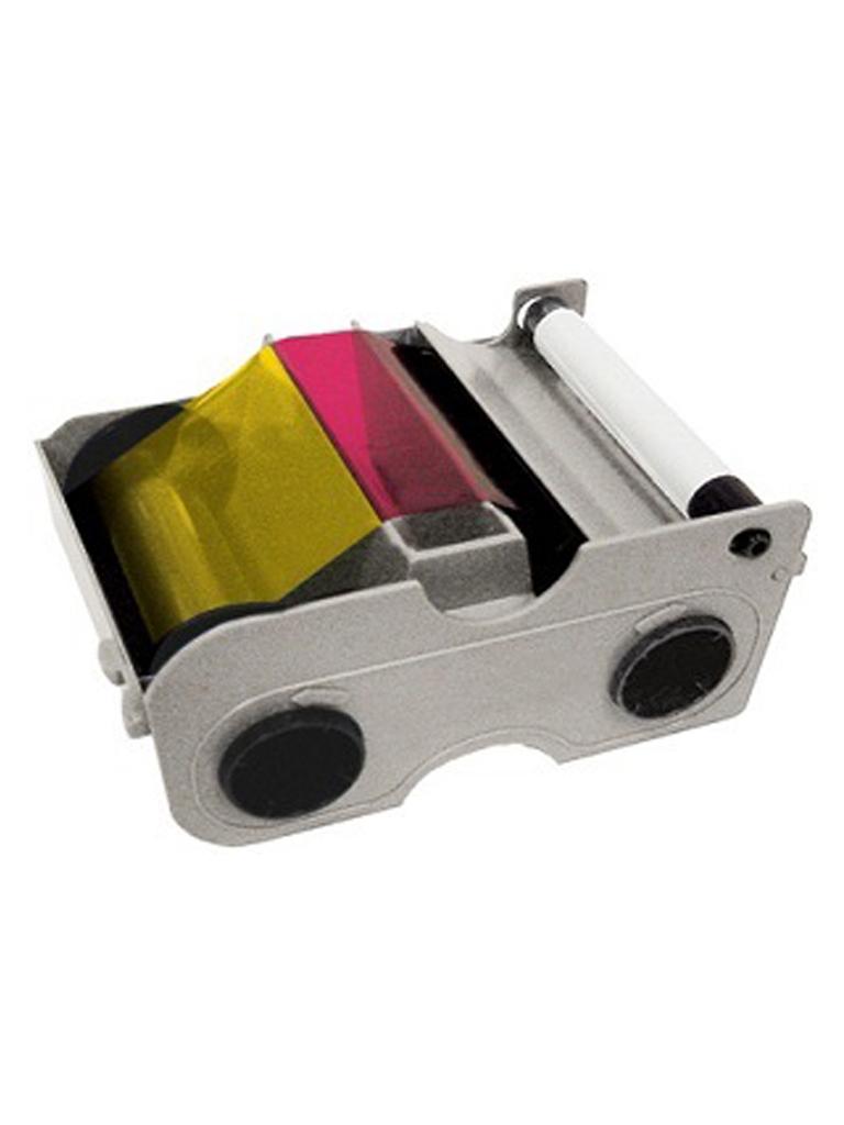HID CINTA45210 - Cinta para impresion de 500 credenciales / Tinta    YMCKOK / Compatible para impresora DTC4500E para impresion a doble cara / SOBREPED IDO