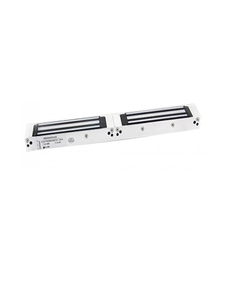 ZKTECO AL - 350D LED- Contrachapa Magnética  LED Doble para Control de Acceso / 300  Kg / 12V / 24 VDC