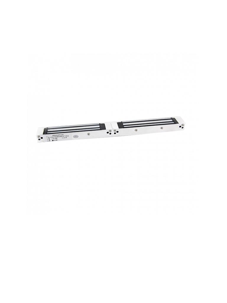 ZKTECO AL - 500D LED- Contrachapa Magnética  LED Doble para Control de Acceso / 1000  Kg / 12V / 24 VDC