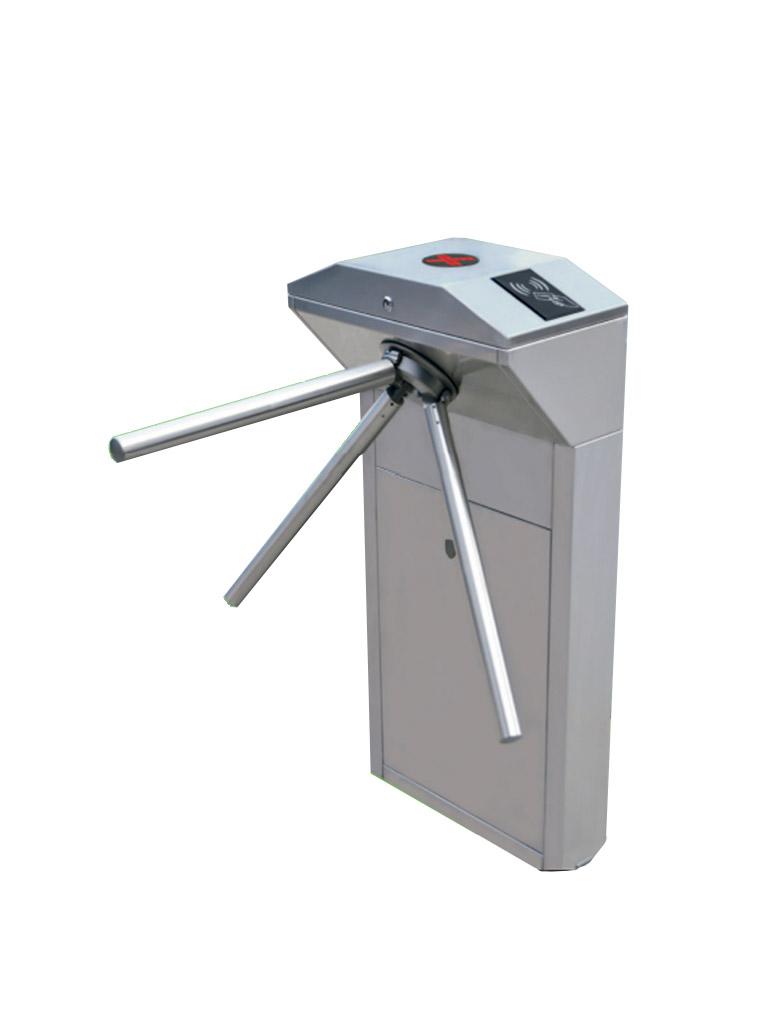 ZKTECO TS1000PRO - Torniquete Vertical / Semiautomático / Bidireccional / Compatible con Biometricos ZKTECO y Lectores RFID / No incluye Accesorios